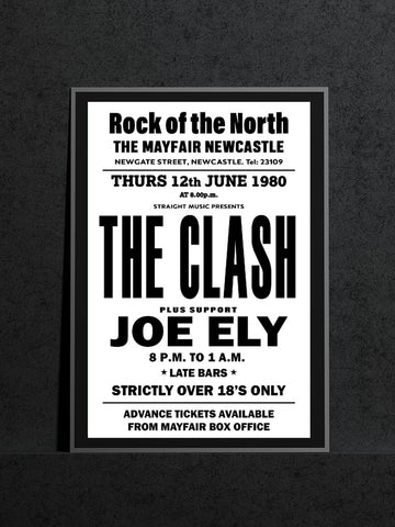 The Clash - Newcastle Mayfair - 1980