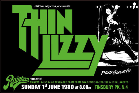 Thin Lizzy - Rainbow Theatre - 1980