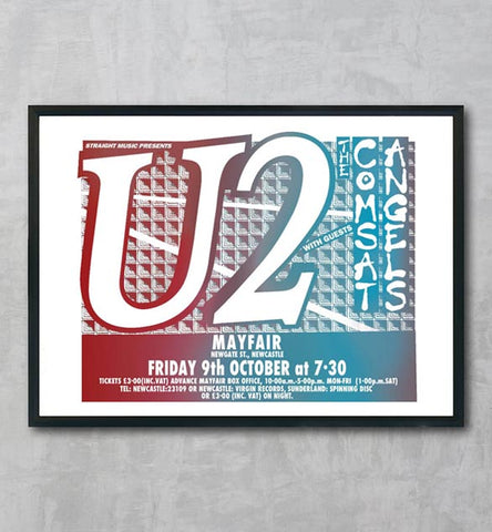 U2 - Newcastle Mayfair - 1981