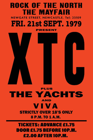 XTC - Newcastle Mayfair - 1979
