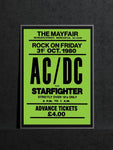 AC/DC Newcastle Mayfair Starfighter