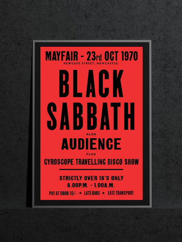 Black Sabbath Audience Newcastle Mayfair