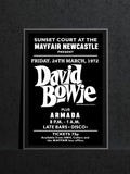 David Bowie Armada The Mayfair Newcastle