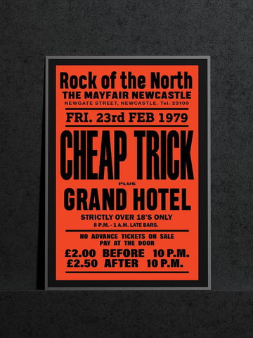 Cheap Trick - Newcastle Mayfair - 1979