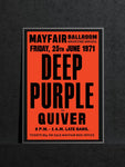 Deep Purple - Newcastle Mayfair - 1971