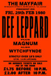 Def Leppard - Newcastle Mayfair - 1980