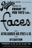 The Faces - Rainbow Theatre - Feb 1972