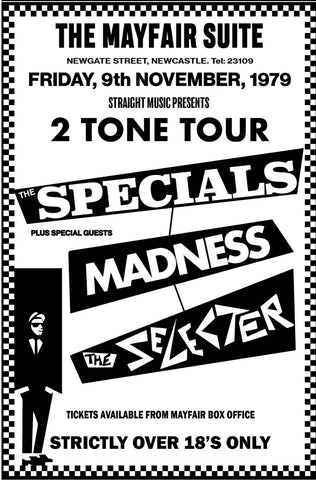 2 Tone Tour (The Specials / Madness) - Newcastle Mayfair - 1979