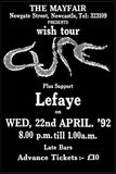 The Cure - Newcastle Mayfair - 1992