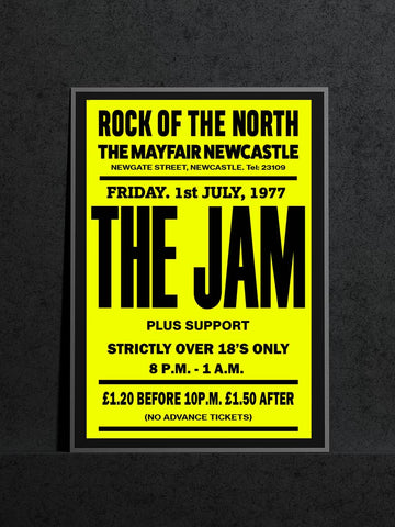 The Jam - Newcastle Mayfair - July 1977