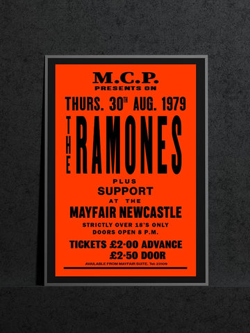 The Ramones - Newcastle Mayfair - 1979
