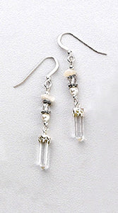 Archangel Gabriel Sterling Silver Earrings