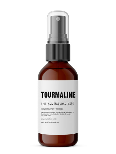 Black Tourmaline - Meditation/Body Mist - Made with All Natural Ingredients