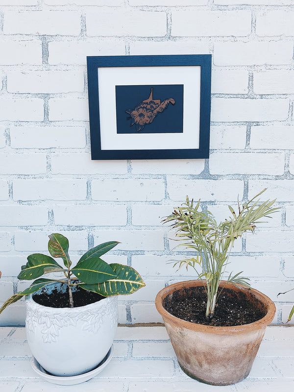 WV Rhododendron Wall Frame