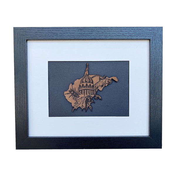 WV Capitol Wall Frame