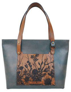 The MR Signature Floral Charlie Tote
