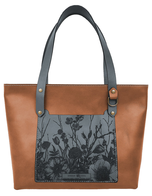 The Copper Floral Charlie Tote