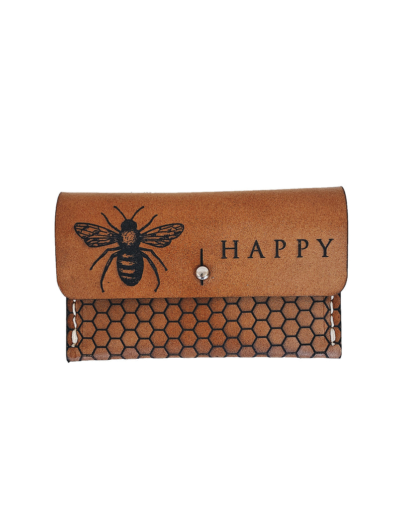 The Bee Happy Perry Wallet Pouch