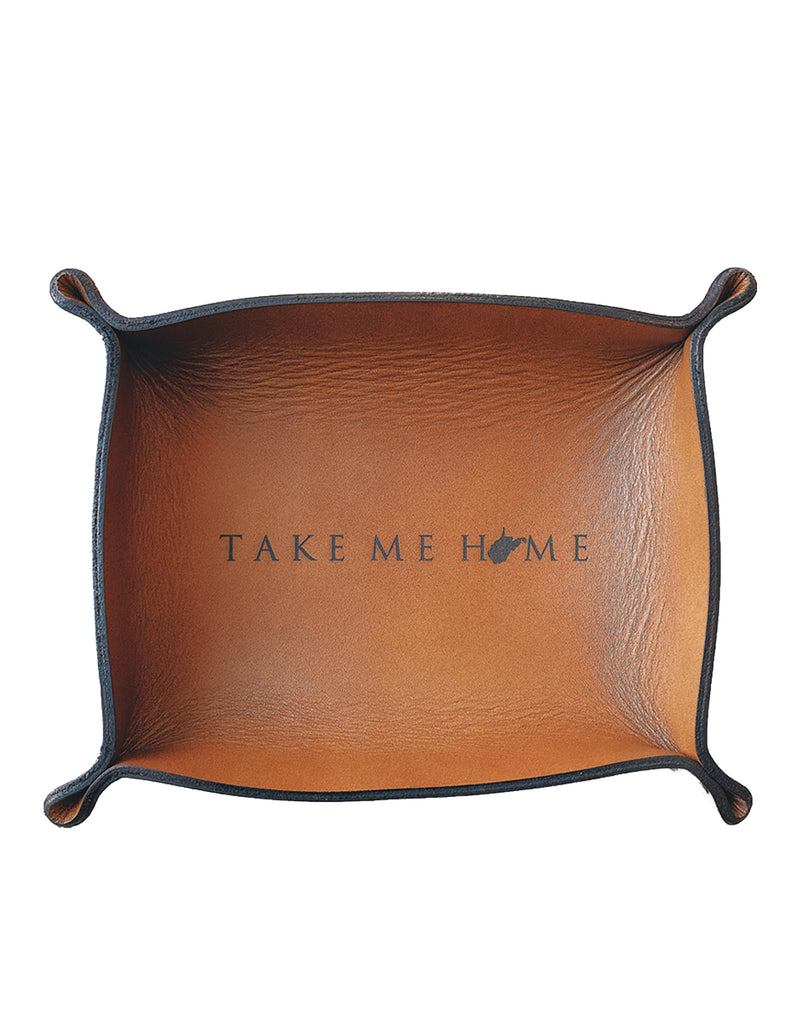 Copper Take Me Home Valet Tray