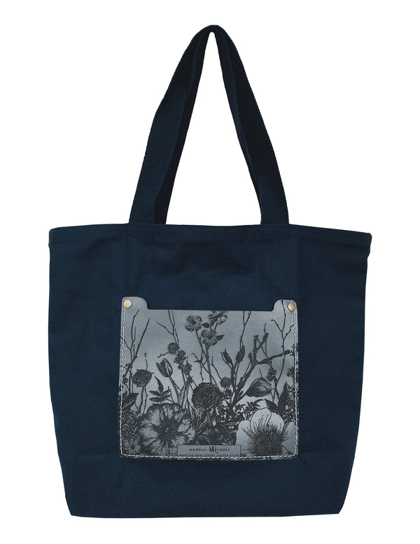 The MR Signature Floral Canvas Tote