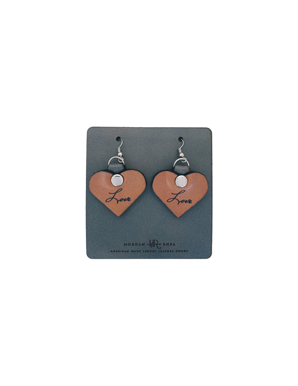 Heart Earrings & Keychain Bundle