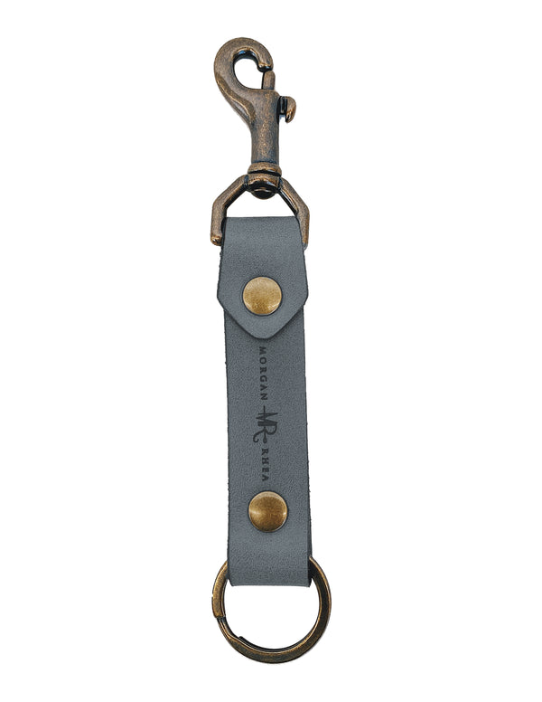 The MR Siganture Swivel Snap Linden Keychain