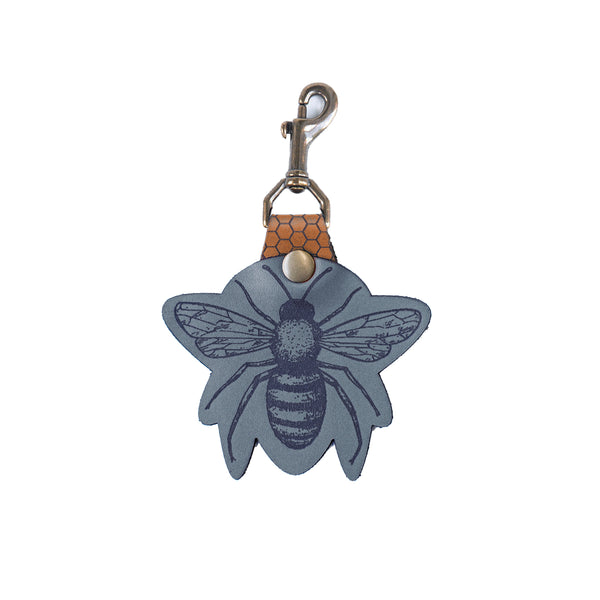 The MR Signature Bee Swivel Snap Keychain