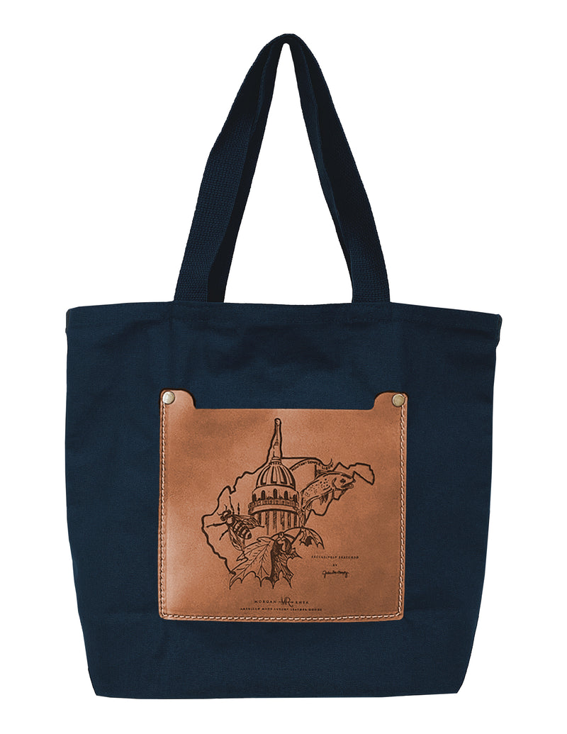The Copper WV Day 2020 Artisan Series Tote