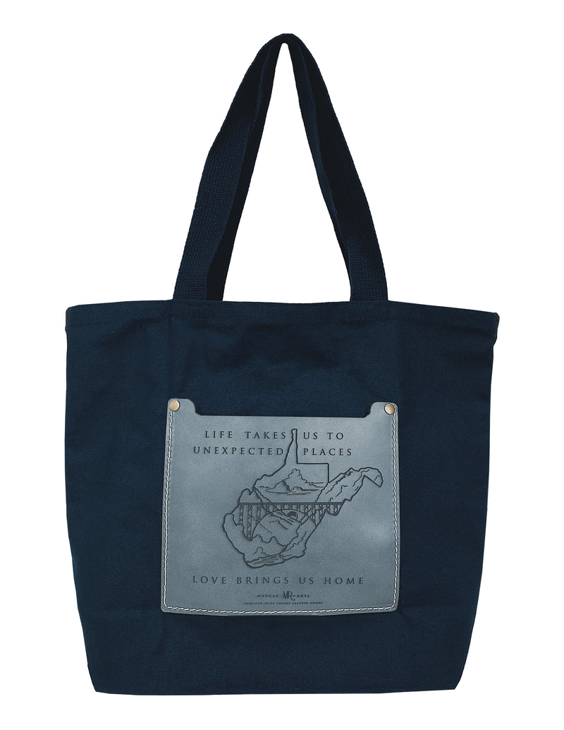 The Copper WV Artisan Series Tote