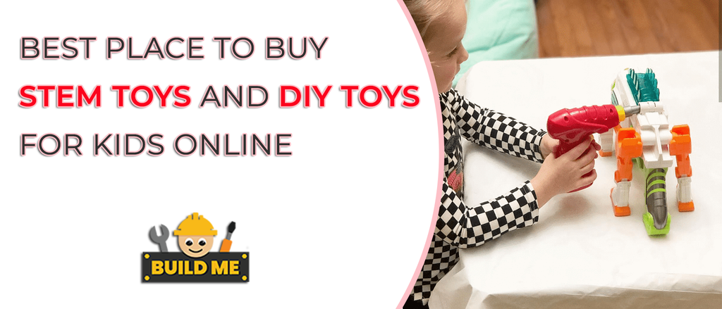 Best Place to Buy STEM Toys and DIY Toys for Kids Online
