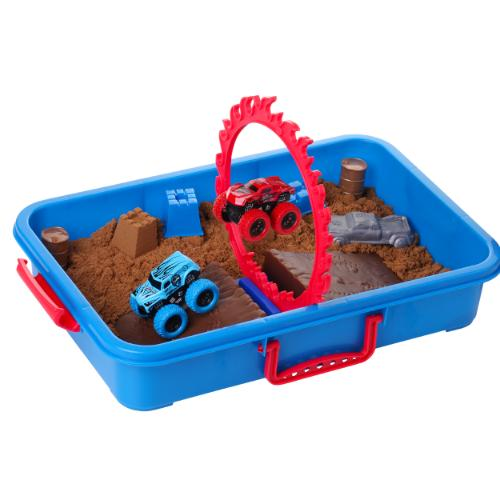 Monster Truck Sand Play Set with 2 Lbs of Sand