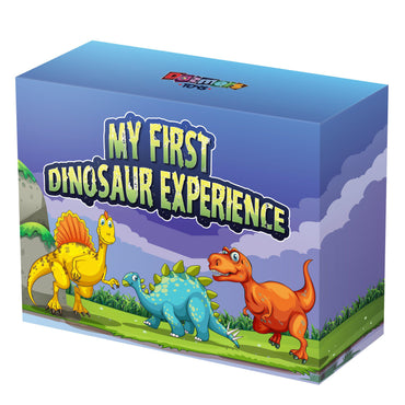 "12"" Dinosaur Plush Animal Gift Set with Fun Facts Book"