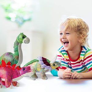 Plush Stuffed Dinosaurs Set of 4