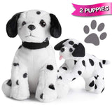 Puppy Vet Kit with 2 Dalmatian Plush Dogs