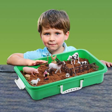 Sensory Farm Sand Play Set with 2 lbs of Sand