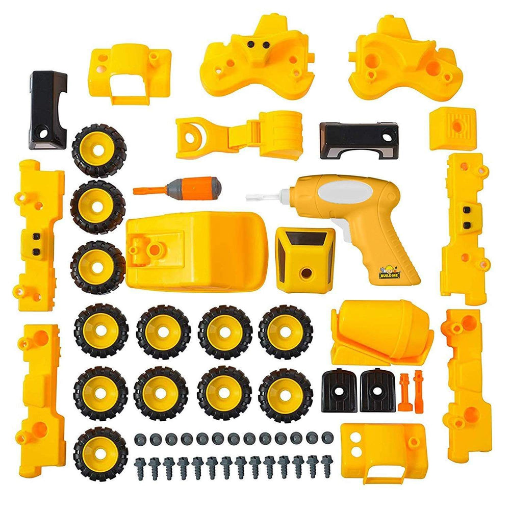 Take Apart Construction Build Your Own Truck Toy