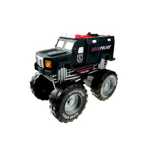 Police Monster Truck with Lights and Sounds