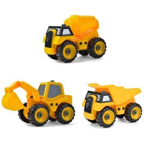 Take Apart Construction Truck Set