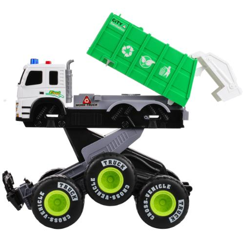 Friction Powered Monster Truck with Lights and Sounds