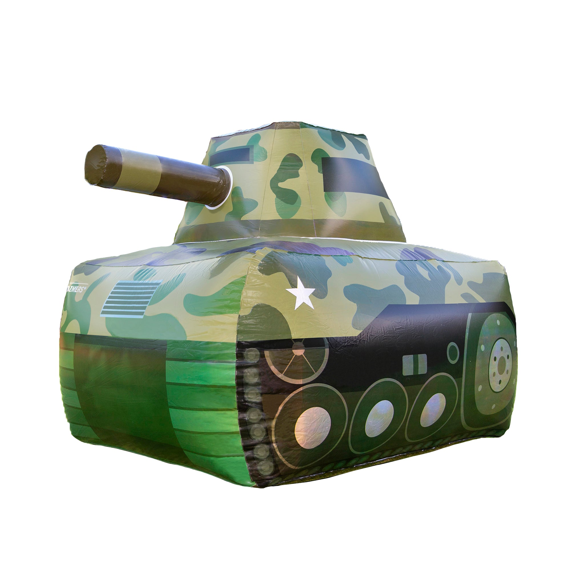 Inflatable Military Battle Tank for Nerf Party Wars