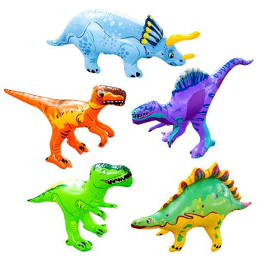 Inflatable Fun & Educational Dinosaur Toys Set