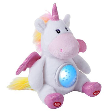 Plush Unicorn Star Projector Night Light Stuffed Toy
