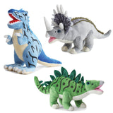 Dinosaur Plush Set with Book