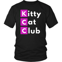 "Load image into Gallery viewer, ""Kitty Cat Club"" T-Shirt"