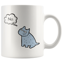 "Load image into Gallery viewer, ""No."" Mug"