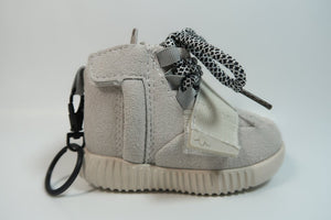 Light Grey Keychain Charger - Dope Angels