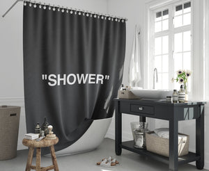 Hypebeast Shower Curtain - Dope Angels