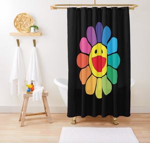 Street Art Shower Curtain - Dope Angels