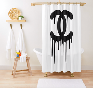 Luxury Shower Curtain - Dope Angels