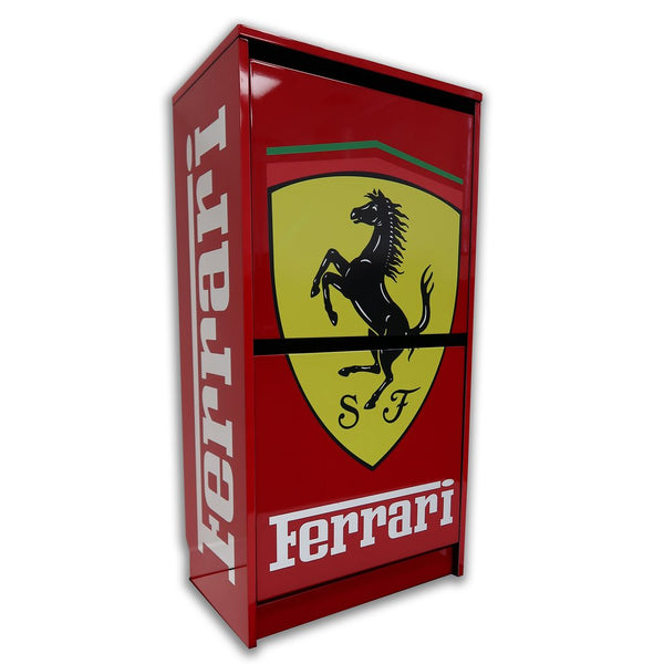 F1 Ferarri Shoe Chest - Dopeangels